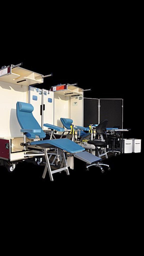 flightcase net behandelstoel